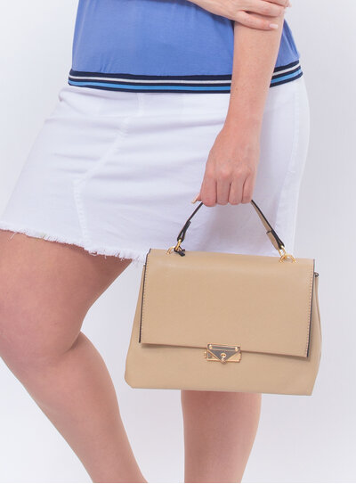 Bolsa Handbag Nude