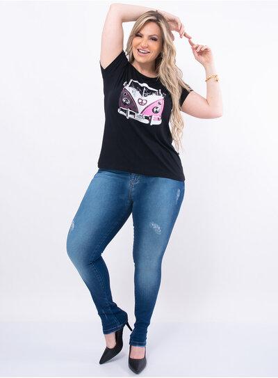T-Shirt Plus Size Kombi
