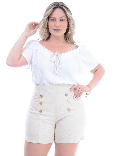 Blusa Plus Size Respeitável