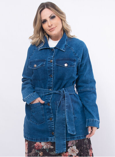 Sobretudo Plus Size Jeans