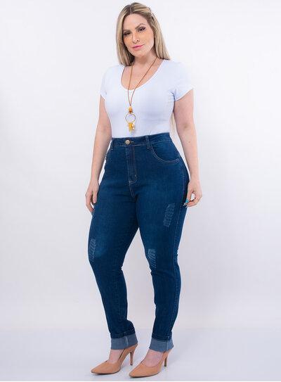 Calça Jeans Plus Size Stone Seduzzy