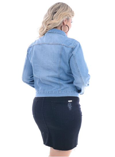 Jaqueta Jeans Attribute Clara