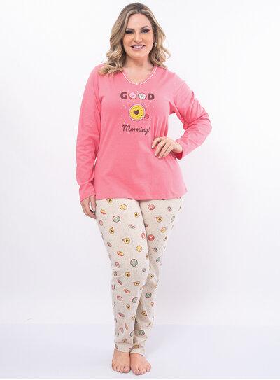 Pijama Plus Size Donuts