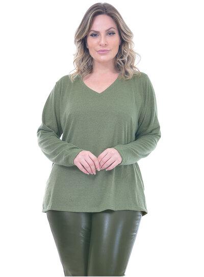 Blusa Plus Size Amsterdam