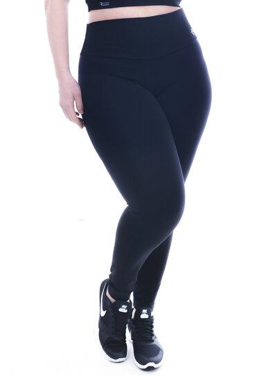 Legging Plus Size Cintura Alta