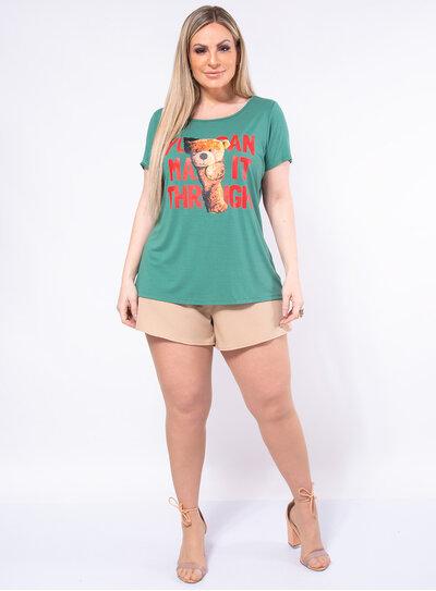 T-Shirt Plus Size Urso