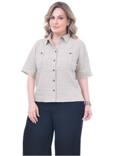 Camisa Plus Size Rosaria