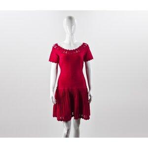 Vestido Herve Leger pink