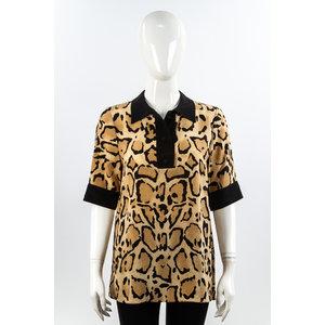 Polo Gucci Seda Animal Print