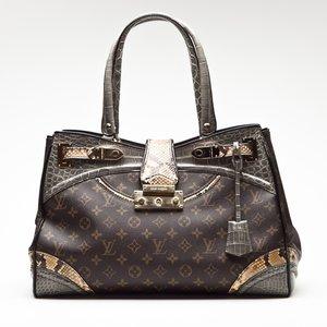 Bolsa Louis Vuitton Etoile em Crocodilo e Snake logomarca