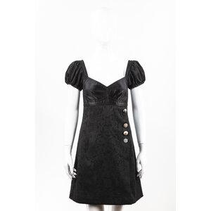 Vestido Dolce & Gabbana em cetim preto