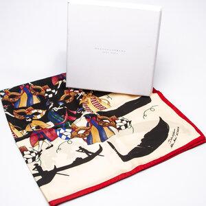 Lenço Dolce & Gabbana em Seda Estampado