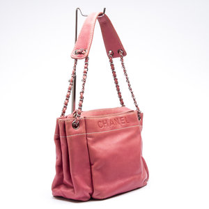Bolsa Chanel Accordion Rosa