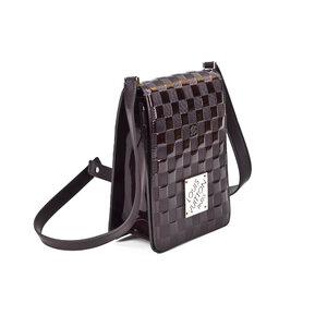 Bolsa Louis Vuitton em verniz bordô
