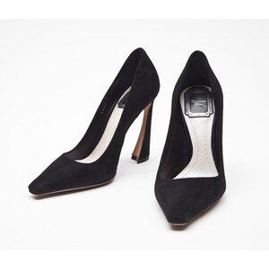 Sapato Dior em camurça preto