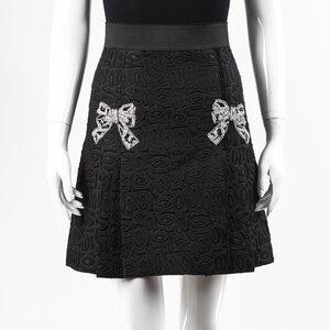 Saia Dolce & Gabbana preta