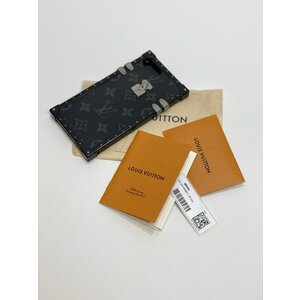 Case Iphone 7/8 Louis Vuitton Couro Monograma
