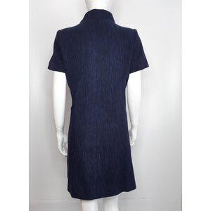 Vestido Chanel Cotton Azul Marinho