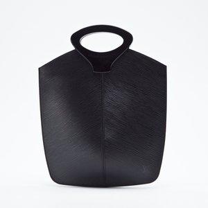 Bolsa Louis Vuitton Demi Lune em couro epi preta