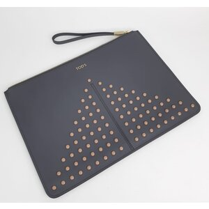Clutch Tod'S Couro Cinza