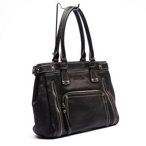 Bolsa Longchamp Couro Preta