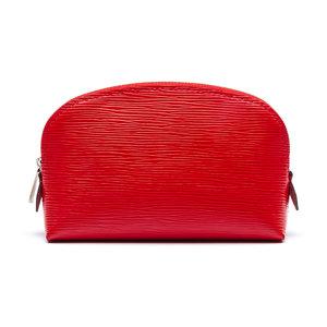 Necessaire Louis Vuitton em Couro Epi Vermelha