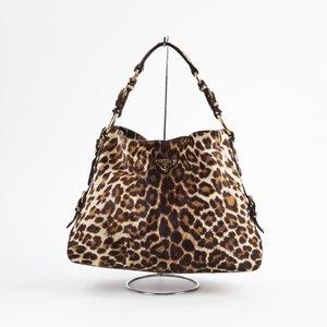 Bolsa Prada Leopard Pony Hair