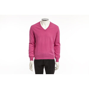 Malha Hérmes em cashmere rosa