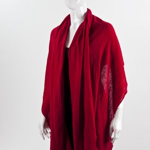 Pashmina Mixed cashmere vermelha