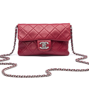Crossbody Chanel Mineral Nights Bordô