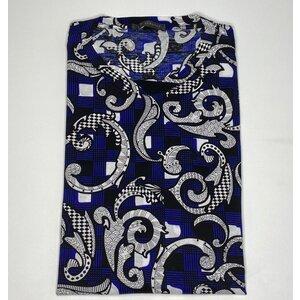T-Shirt Versace Cotton B&W /Azul