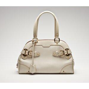 Bolsa Louis Vuitton em couro bege