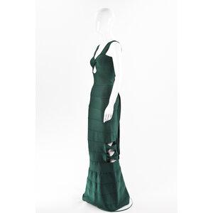 Vestido Longo Lolita Strech Verde