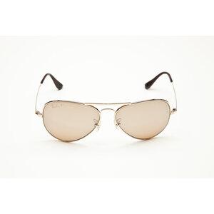Óculos Ray Ban em dourado