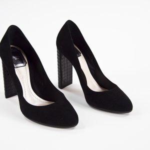 Sapato Dior camurça preto