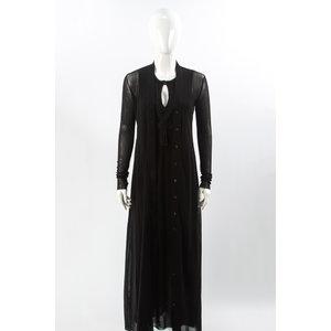 Vestido c/Casaco Jean Paul Gaultier em Musseline