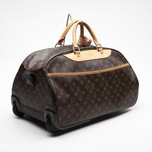 Mala Louis Vuitton Eole 50 em Couro Monograma