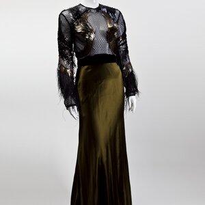 Vestido Gucci longo Haute Couture