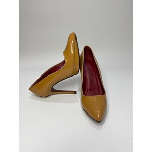 Sapato Lanvin Verniz Caramelo