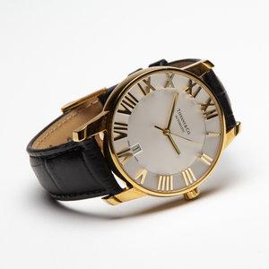 Relógio Tiffany & Co Atlas 18 Yellow Golg Ouro Amarelo