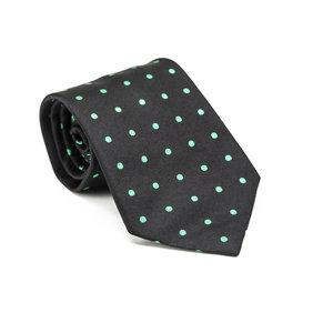 Gravata Ralph Lauren em seda verde e preto