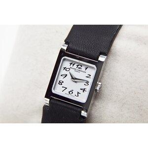 ... Relógio Baume   Mercier com pulseira em couro preta 1c538dd8e9