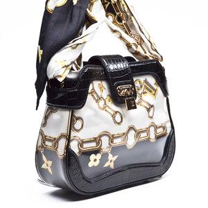 Bolsa Louis Vuitton C/ scarf