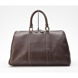 Bolsa Dior em couro marrom