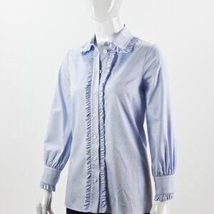 Camisa Gucci em azul claro