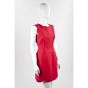 Vestido Dior em vermelho