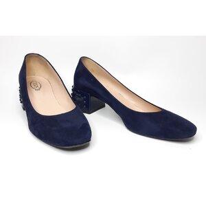 Sapato Tod's Camurça Azul Marinho