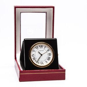 Relógio de Mesa Cartier Ouro