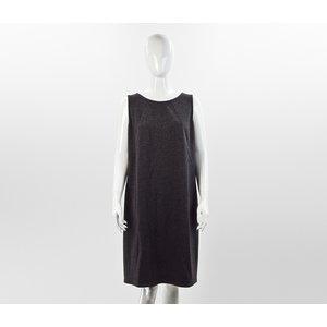 Vestido Akris em cinza e preto