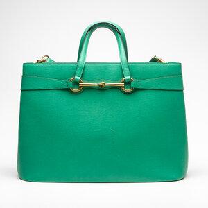 Bolsa Gucci Couro Verde